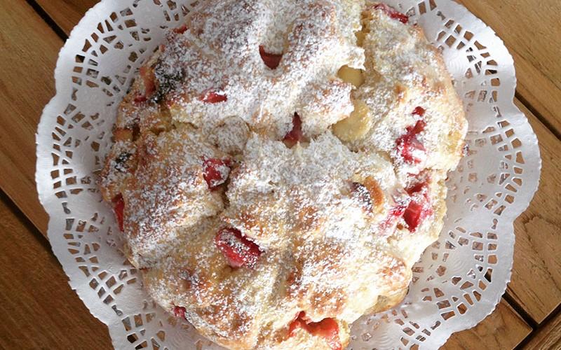 Flavour: Strawberry scones recipe